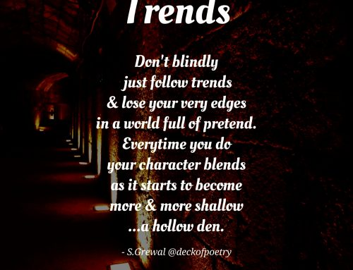 Trends – Living Outside the Box
